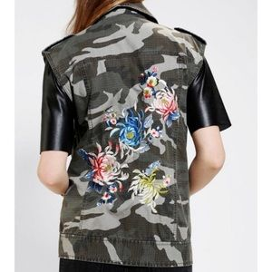 Urban Outfitters Silence + Noise Camo Vest